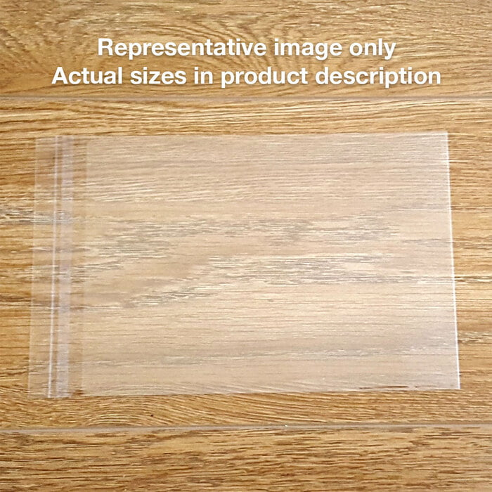 215x310mm 100 self-seal opp bags (Snug A4)